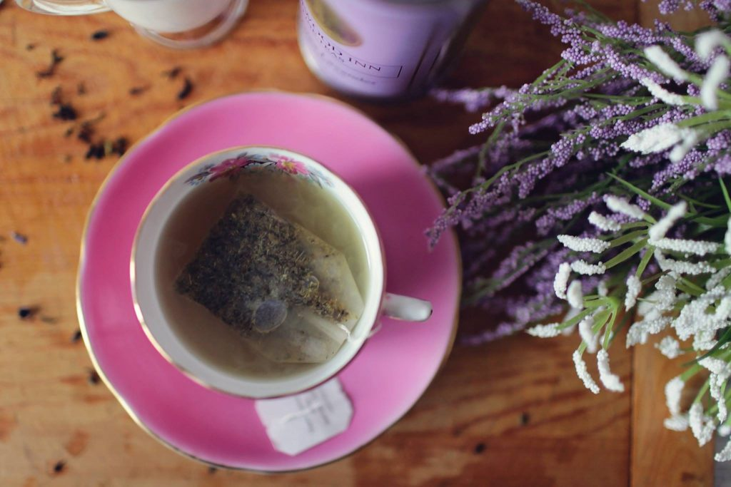 Lavender tea is one way to use essential oils for insomnia