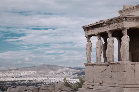 Guided meditation at the acropolis