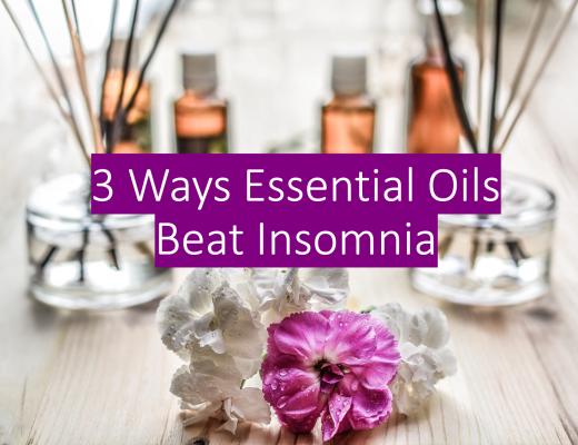 3 Ways essential oils beat insomnia
