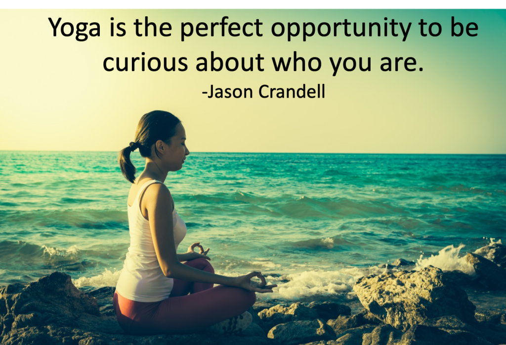 Yoga Nidra helps you discover who you are.